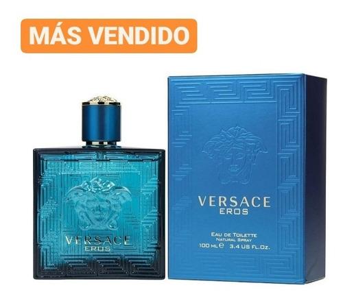 Perfume Locion Versace Eros 100ml - mL a $700
