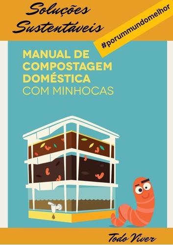 Manual De Compostagem Em Baldes. Envio Digital.