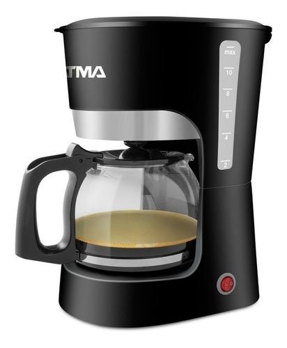 Cafetera Atma Desayuno Ca8143 Semi Automática Negra De Filtro 220v