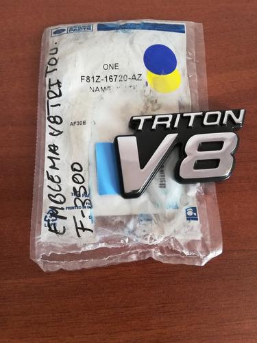 Emblema V8 Tritón Ford 350