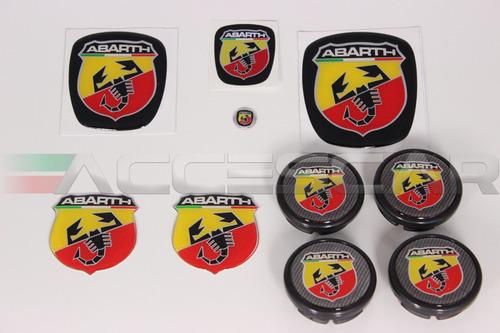Kit Nº5 Adesivos Abarth P/ Fiat Bravo Original