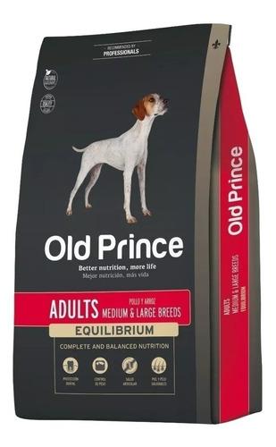 Alimento Old Prince Equilibrium Para Perro Adulto De Raza Mediana/grande Sabor Pollo/arroz En Bolsa De 20kg