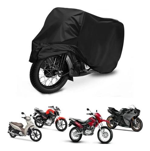 Capa Protetora De Cobrir Moto Anti Uv Chuva Riscos Poeira