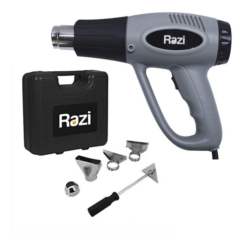 Soprador Térmico 2000/1500w 300 À 550°c Razi +kit Acessórios