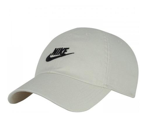 Bone Nike Preto Heritage 86 Aba Curva Treino Futura Washed
