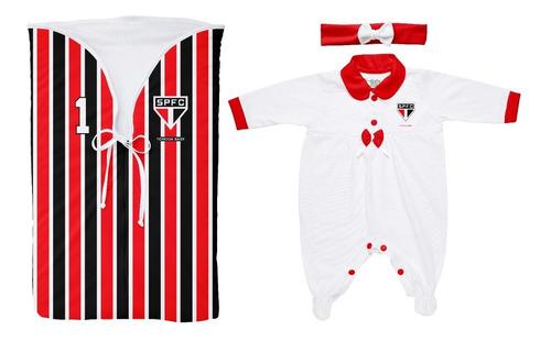 Saída  Maternidade São Paulo Feminino Torcida Baby- Oficial