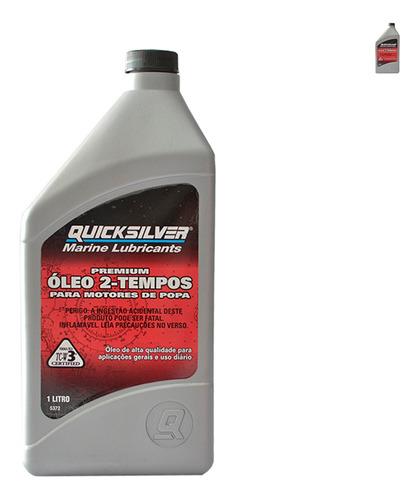 Lubrificante Quicksilver Tcw3 2 Tempos 1 Litro