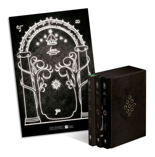 Box Livros Trilogia O Senhor Dos Anéis Capa Dura
