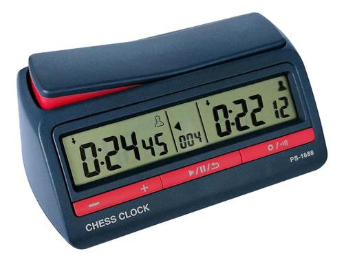 Reloj Temporizador Digital De Ajedrez Hecho En Abs