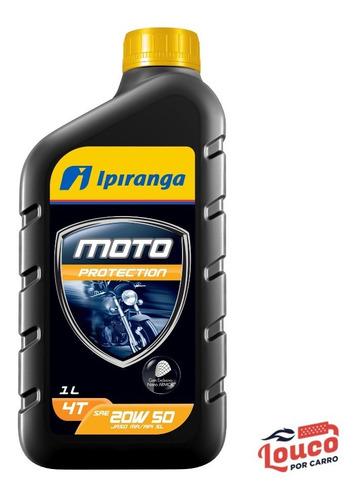 Óleo Lubrificante Moto Ipiranga Moto Protection 20w50 Sl 1l