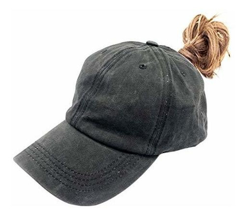 Sombreros De Cola De Caballo Altos Waldeal Para Mujer Gorra