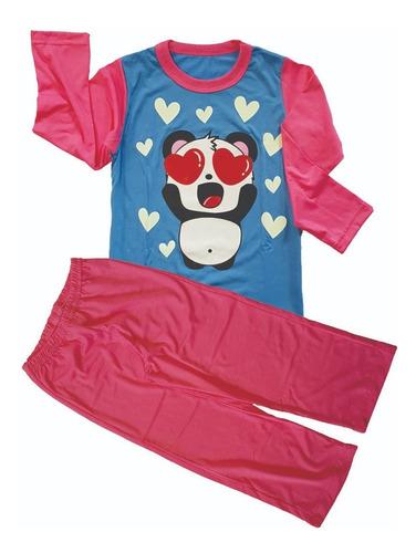 Pijama Unicórnio Infantil - Estampa Brilha No Escuro