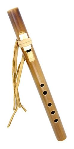 Flauta Nativa Americana Profesional En Sol Quena Bambu