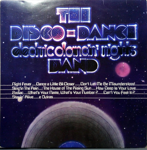 The Disco Dance Band Lp Electric Dancin' Nights 1978 N. 144