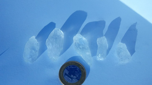 Cristal Cinco Pedras Ponta De Cristal Natural De 2 A 5 Cm