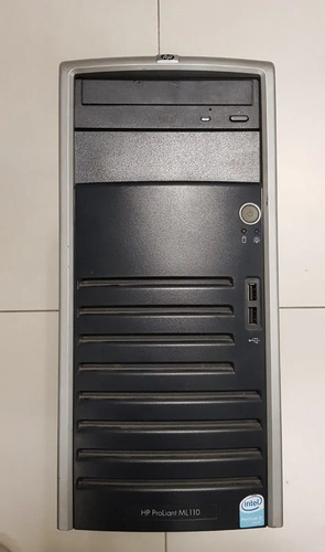 Server Proliant Hp Ml110 P4 Ht + Disco Ssd 120 Gb Kingston