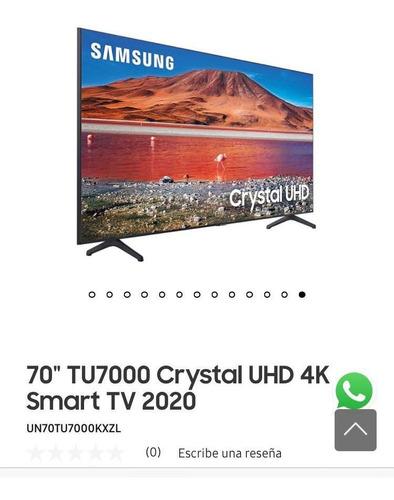 Led 70 Pulgadas Samsung 4k Crystal Uhd