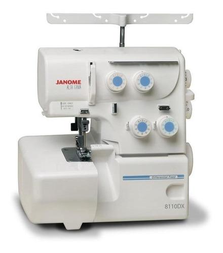 Máquina De Coser Janome Alta Gama 8110dx Blanca 220v