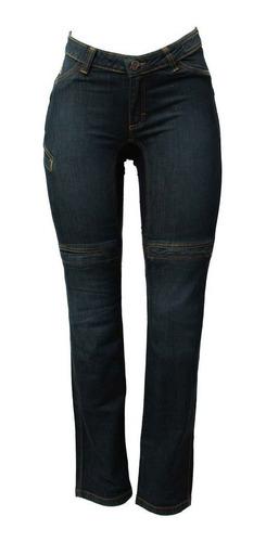 Calça Para Motociclista Jeans Hlx Penelope Confort Feminina