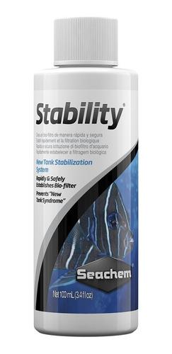 Stability Seachem Cultivo Bacterias Acuario 100ml