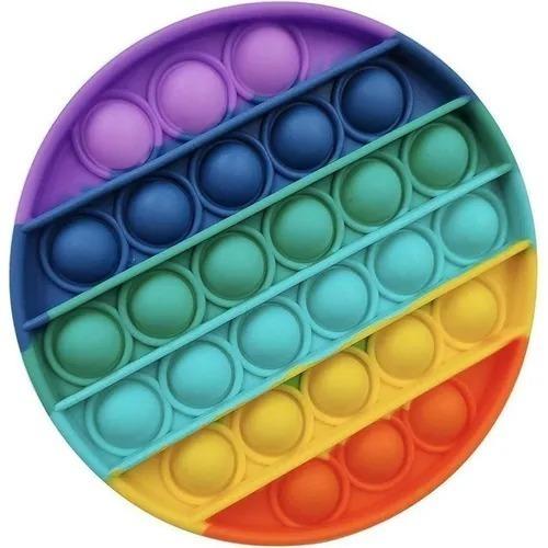 Pop-it Fidget Toy Empurre Bolha Autismo Anti-stress