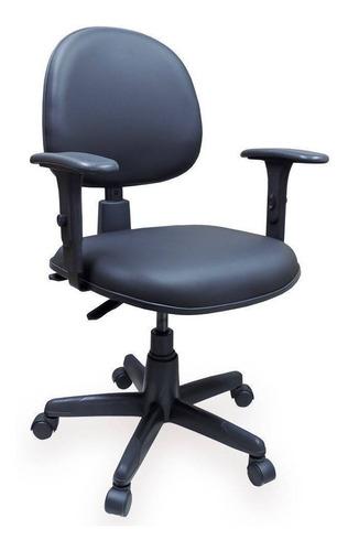 Cadeira Giratória   Back System Executiva Nr 17 Corvin Preto