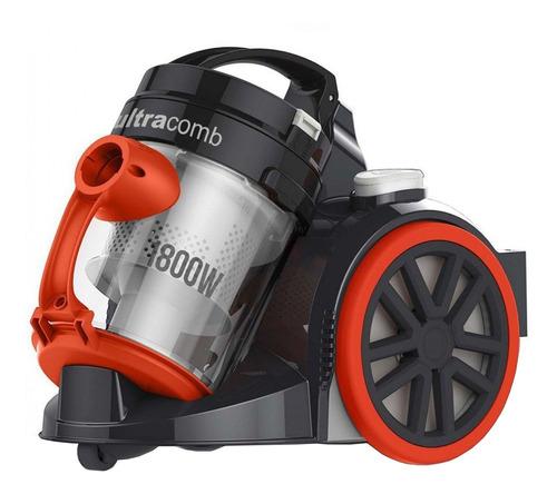 Aspiradora Ultracomb As-4224 2.5l  Negra Y Naranja 220v