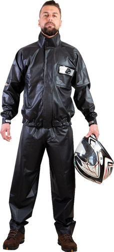 Capa De Chuva 100% Impermeável Moto Alba Europa P M G Gg Eg
