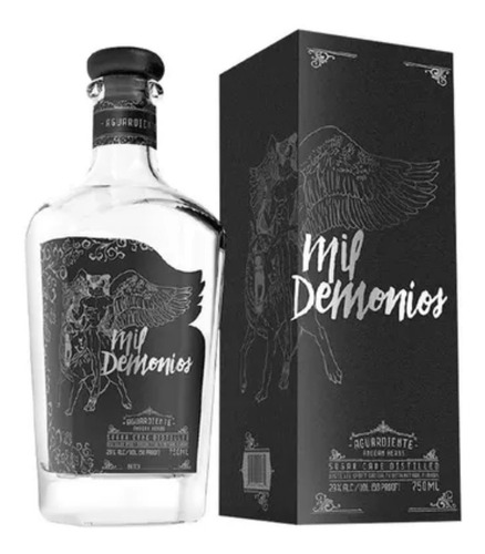 Aguardiente Mil Demonios 750 Ml - mL a $160