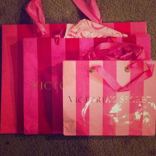 Bolsas Victoria Secret Originales Distintos Tamaños