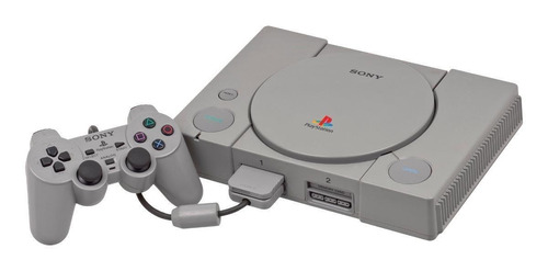Sony Playstation Color  Gris