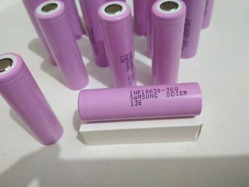 Bateria Samsung 30q 18650 3000mah 15a Inr18650 Original