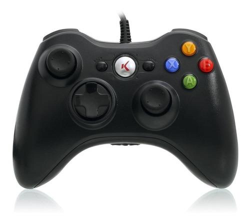 Controle Joystick Knup Kp-5121a Preto