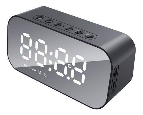 Parlante Y Reloj Despertador Inalámbrico - Tedge