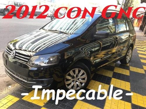 Volkswagen Suran 1.6 Comfortline Gnc Impecable