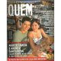 Revista Quem 68/2001 Marcio Garcia Monique Rita Lee