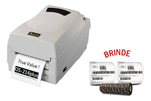 Impressora De Etiquetas Argox Os214 Plus