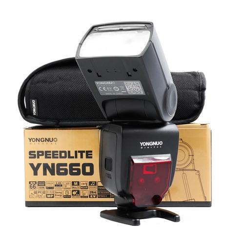 Flash Yongnuo 660 Gn66 Speedlite Universal Con Garantía