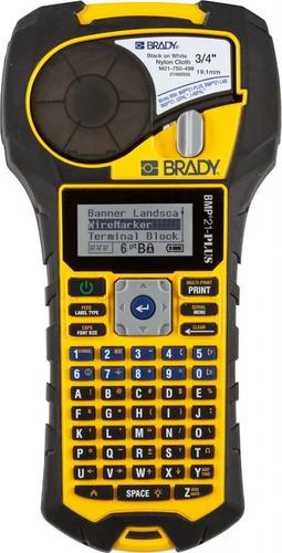 Impressora Rotuladora Brady Bmp21 Plus Profissional Fitas