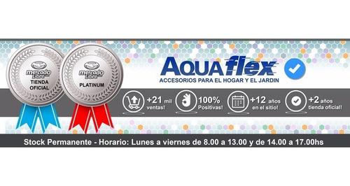 Kit Riego Completo Manguera 1/2  X 25mts  Mallada Aquaflex
