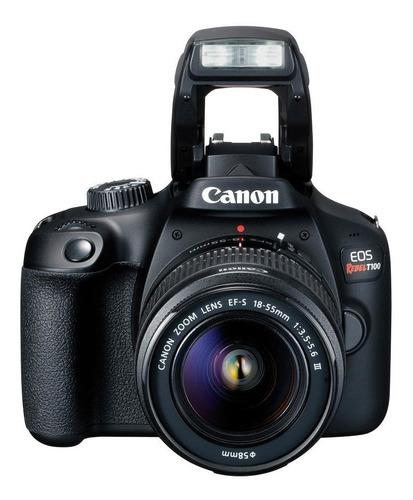Cámara Canon Eos Rebel T100 + 18-55 Dc Nueva En Caja