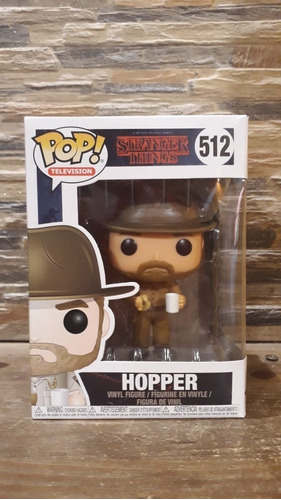 Funko Pop Stranger Things Hopper 512