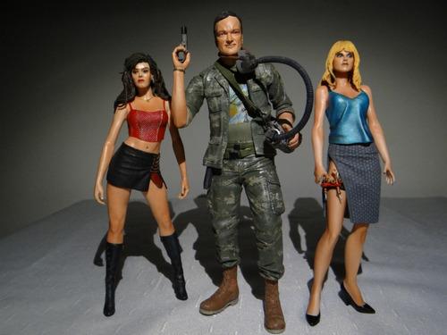 Figuras Planet Terror Lote Tarantino  Cherry Dakota Neca