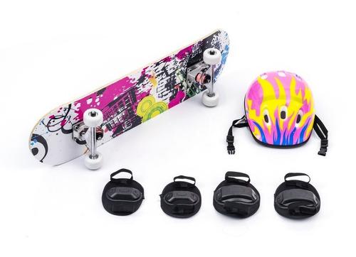 Skate Infantil Radical Menino Menina Iniciante