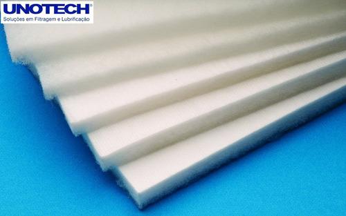 Manta Filtrante Em Poliéster Para Sistemas De Ventilação M²