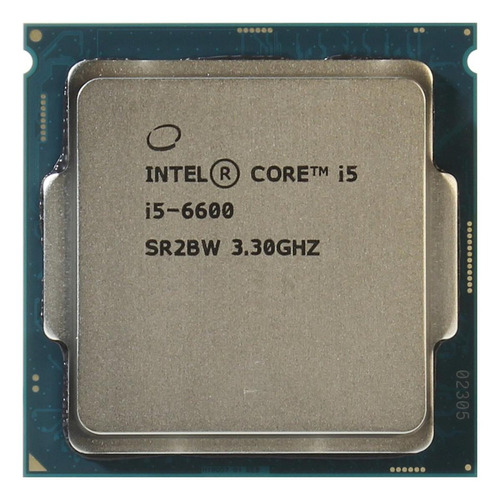 Processador Gamer Intel Core I5-6600 Cm8066201920401 De 4 Núcleos E 3.3ghz De Frequência Com Gráfica Integrada