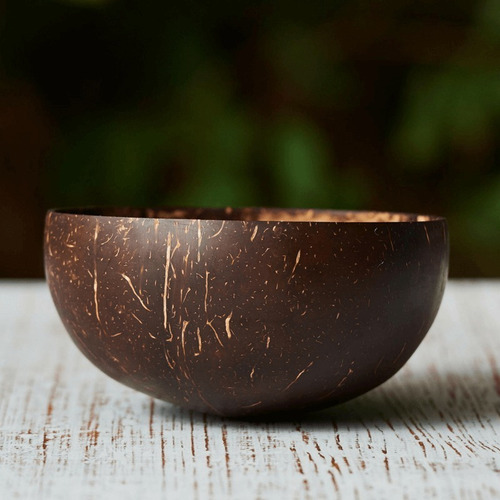 Bowl De Coco Vegano - 100% Natural (cumbuca/tigela)