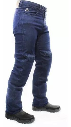 Calça Jeans Com Proteção Motociclista Hlx Street