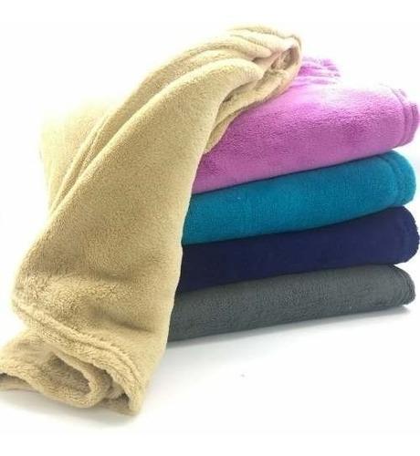 Kit 5 Manta Soft De Bebê Infantil Cobertor