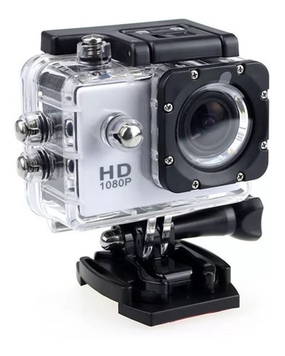 Câmera Filmadora Sport Hd Dv 1080p/ Capacete Mergulho Bike